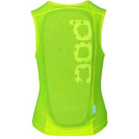 POC POCito VPD Air Protector Vest Kids fluorescent yellow/green